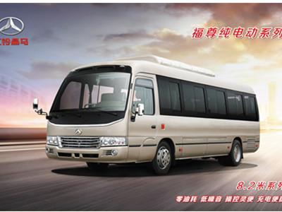 8.2米纯电动城市通勤旅游客车