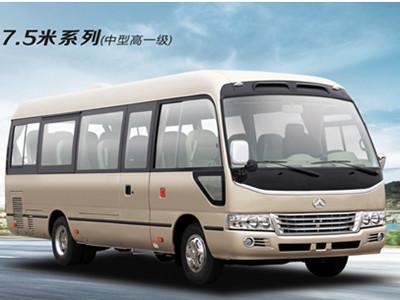 7.5米23座中型高一级德赢vwin安卓下载德赢体育官网高端商旅客车